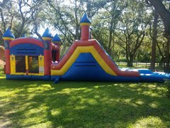 Wet or dry bounce house Double play
