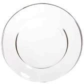 Glass Dinner Plate-dzn