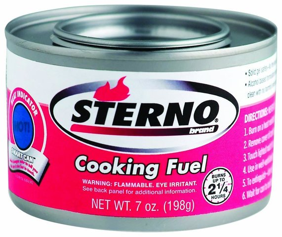 Sterno-Canned Heat