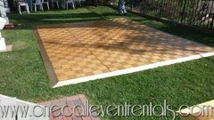 3FT X 3FT Wood Parquet  Dance Floor
