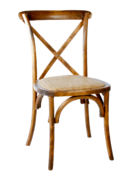 Wood X-Back Chair
