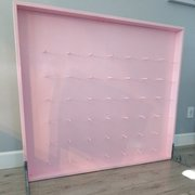 Pink Donut Wall  4FT 4 FT