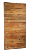 4FT X 8FT Wood Barn Wall