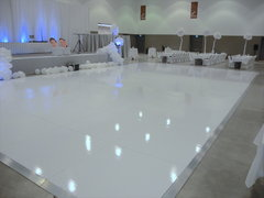 4FT X 4FT White Gloss Dance Floor