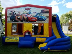 Cars Combo Bounce House