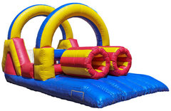 Double Fun Obstacle Course