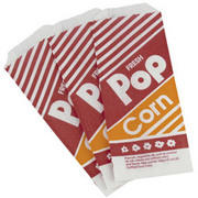 50 Popcorn Bags (bags only)