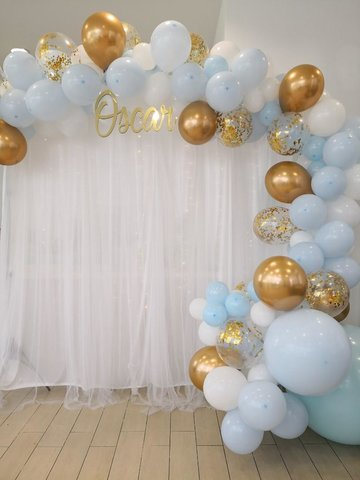Custom Balloon Garland Backdrop