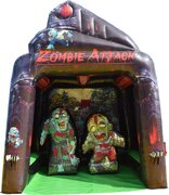 Inflatable Zombie Attack Game
