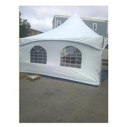 20' x 8' Cathedral Window Tent Side For Frame Tent