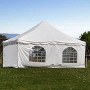 20' X 7' Cathedral Window Tent Side For Pole Tent