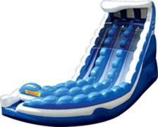 Dual Lane Curve Action Water Slide