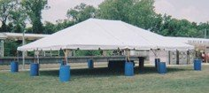 30' X 40' Frame Tent
