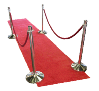 8' Red Carpet