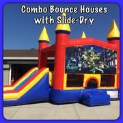 Combo Bounce Houses with Slide-Dry