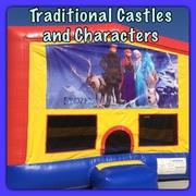 Traditional and Character Bounce Houses