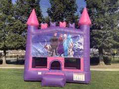 Frozen Bounce House (Pink Module)