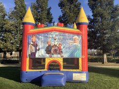 Frozen Bounce House Elsa (Module)
