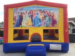 Disney Princess Bounce House (Module Plus)