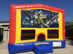 Teenage Mutant Ninja Turtles Bounce House (Module Plus)