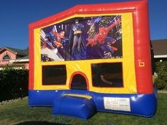 Superheroes Bounce House (Module Plus)