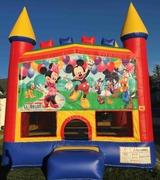 Mickey Mouse Party Castle Combo with Slide Wet