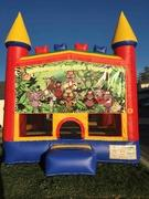 Jungle Animals Bounce House (Module)