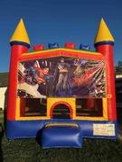 Superheroes Traditional Bounce House (Module)