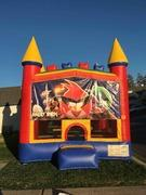 Angry Birds Castle Combo with Slide Wet