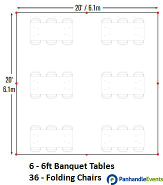 Tent Rental Seating Chart