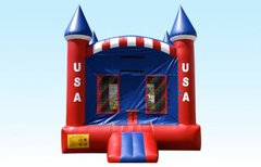USA Castle 15x15 with Basketball Hoop