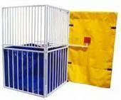 Dunk Tank(Metal-6 square, L shape, target arm, small step+liner&yellow back drop) Z