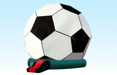 Soccer Ball Bounce House<font color = red> NEW! </font>