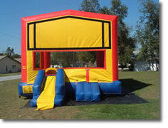 Bounce House with Mini Slide