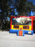 Dinosaur Castle Bounce House