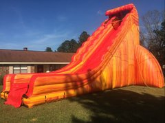 31 Foot Cali Flame Dry Slide
