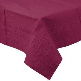 Burgundy Paper Tablecover
