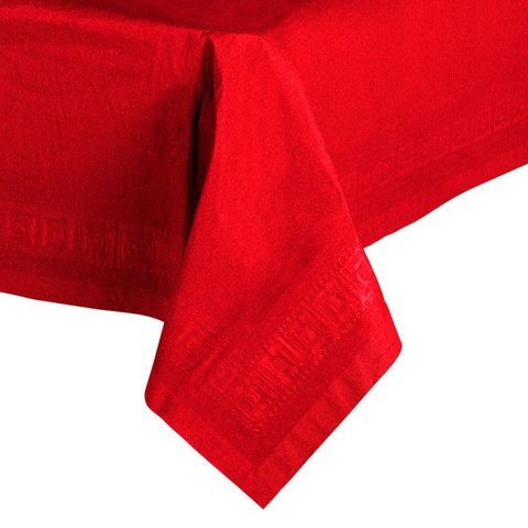 Classic Red Paper Tablecover