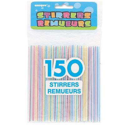 Stirrer Straws Box 1000ct