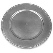 13 Silver Charger Plate
