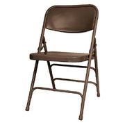 Metal Foldable Brown chair
