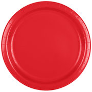 Classic Red Paper Plates