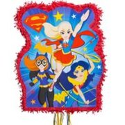 Ribbon Pull DC Girls Character Outline Pinata