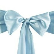 Chair Sash serenity blue