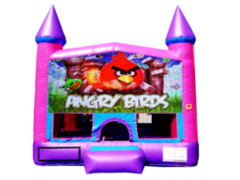 Angry Birds Pink Purple Castle