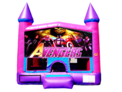 Avengers Pink Purple Castle