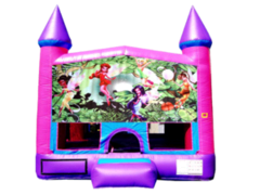 Fairies Pink Purple Castle