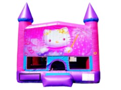 Hello Kitty Pink Purple Castle