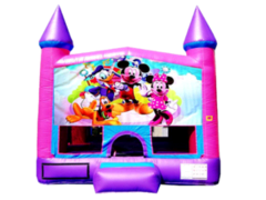 Mickey and Minnie Pink Purple Castle