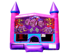 Monster Truck Pink Purple Castle